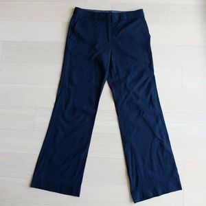 BCBG Max Azria Blk Straight Soft Wool Pants US6